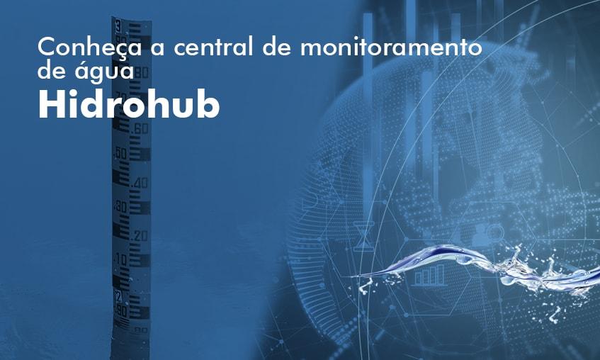 Central de monitoramento de água Hidrohub