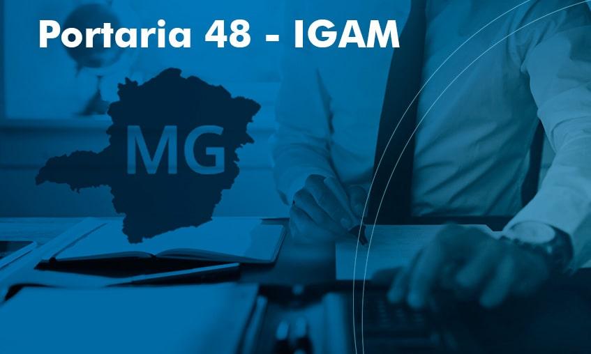 Portaria 48 IGAM - G Hidro Monitoramento de Água e Energia