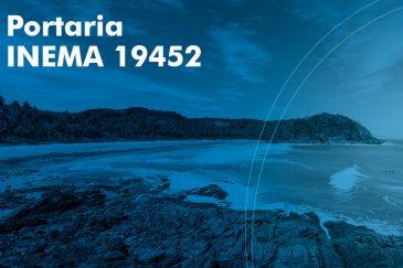 Portaria INEMA 19452