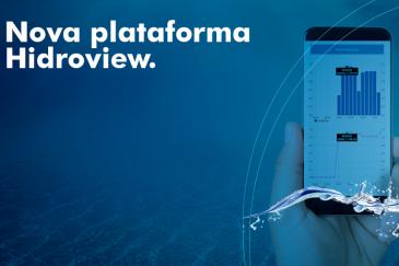 Nova plataforma de monitoramento de água e energia Hidroview