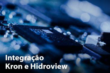 Integração Kron e Hidroview: dados de Konect e KS-3000 na palma da mão