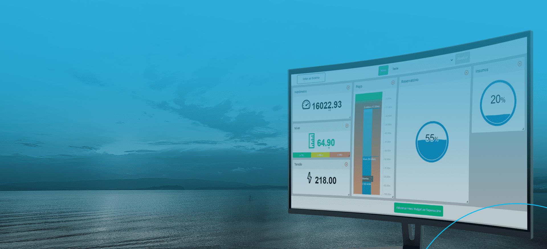 G Hidro - Monitoramento de Água, Monitoramento de Energia