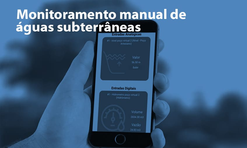Monitoramento Manual de Águas Subterrâneas