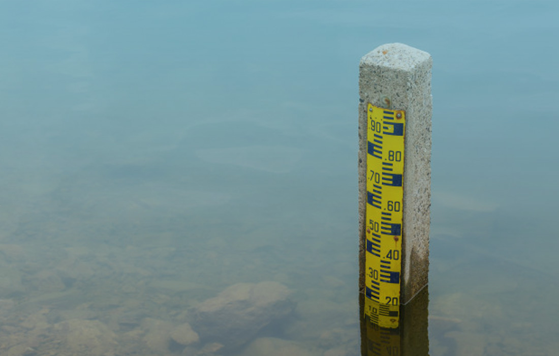 Medir nível de poço, medir nível de reservatório