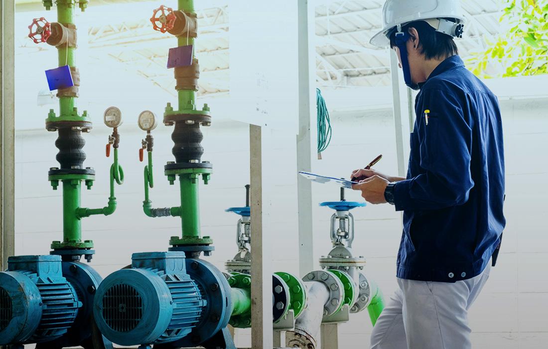 Saneamento - Medir consumo de água e vazamentos